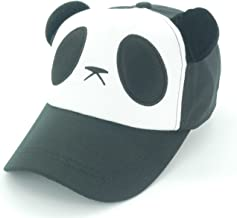 Oidon Panda Pattern Cartoon Cotton Baseball Hats Caps