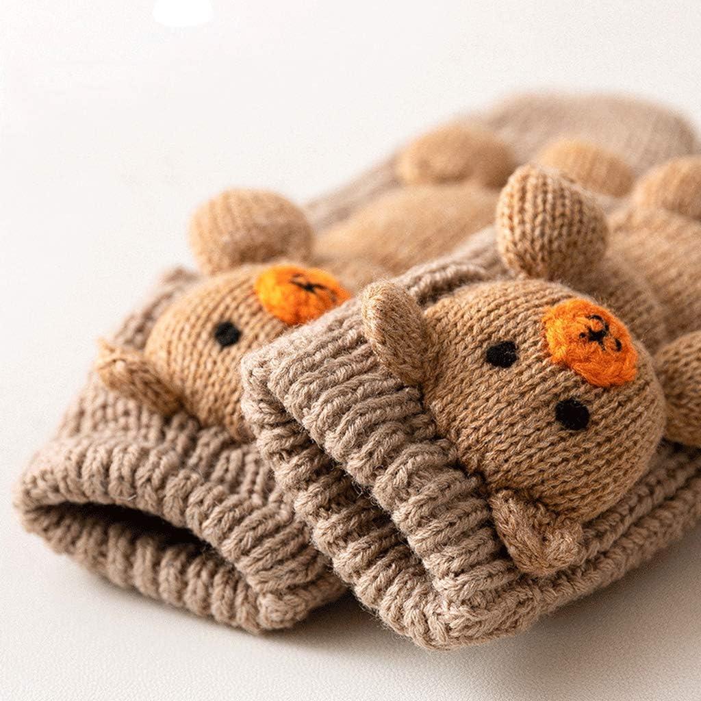 YUEG Plush Cozy Slipper Sock Cute Cartoon Animal Floor Socks Thicken Coral Fleece Fluffy Sleep Bed Socks Warm Winter Non-Slip Socks Indoor for Womens Lady Girls