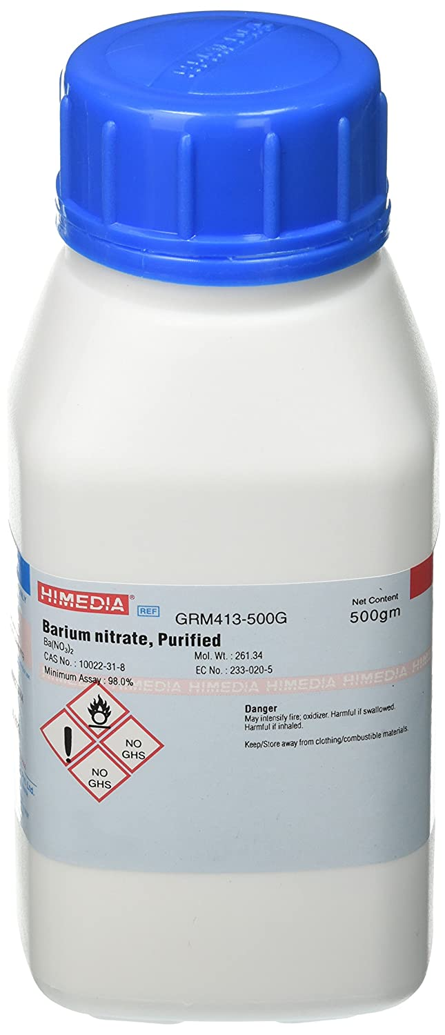 HiMedia GRM413-500G Popular popular Barium Nitrate Some reservation 500 Purified g