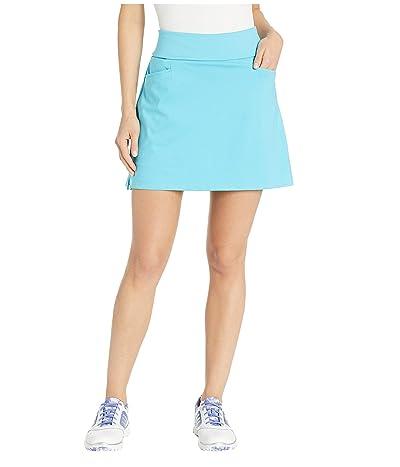 adidas Golf Ultimate Knit 16 Skort (Bright Cyan) Women