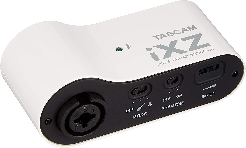 Tascam iXZ – Interfaz micro/guitarra para iPad/iPhone/iPod