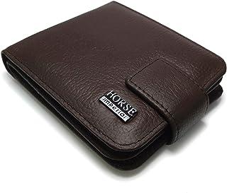 محفظه هورس امبيريال الأصليه ذو جوده عاليه للرجال من الجلد لون بنى