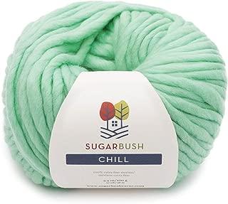 Sugar Bush Yarn Chill Extra Bulky Weight, Fun Green