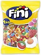 Fini Little Mix Goma Pica, Golosinas Pica Pica, Ositos Gominola, Huevos Chuches, Mezcla de Frutas, 1 Kg