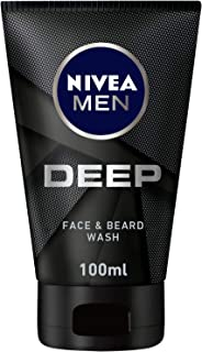 NIVEA Men Deep Face Wash For Men, 100 ml