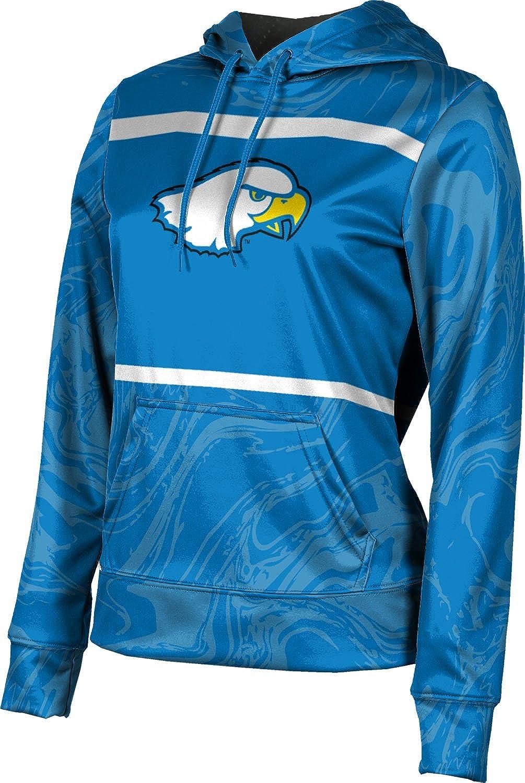 ProSphere Hilbert College Girls' Pullover Hoodie, School Spirit Sweatshirt (Ripple)
