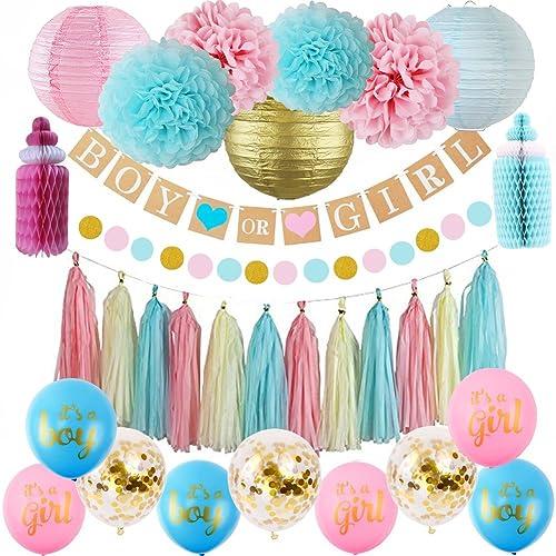 Gender Reveal Party Decorations Amazon Com