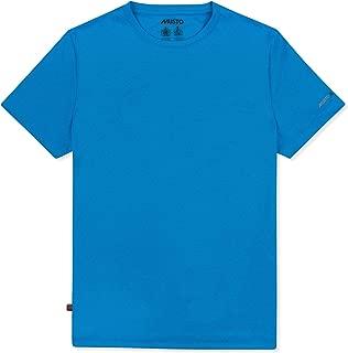Musto Mens Sunshield Permanent Wicking UPF30 T-Shirt Tee Top Brilliant Blue - Lightweight Short Sleeve