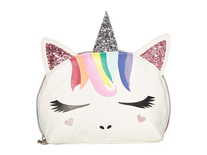 Super Omg Accessories Rainbow Hair Unicorn Critter Cosmetic Bag Beatyapartments Chair Design Images Beatyapartmentscom