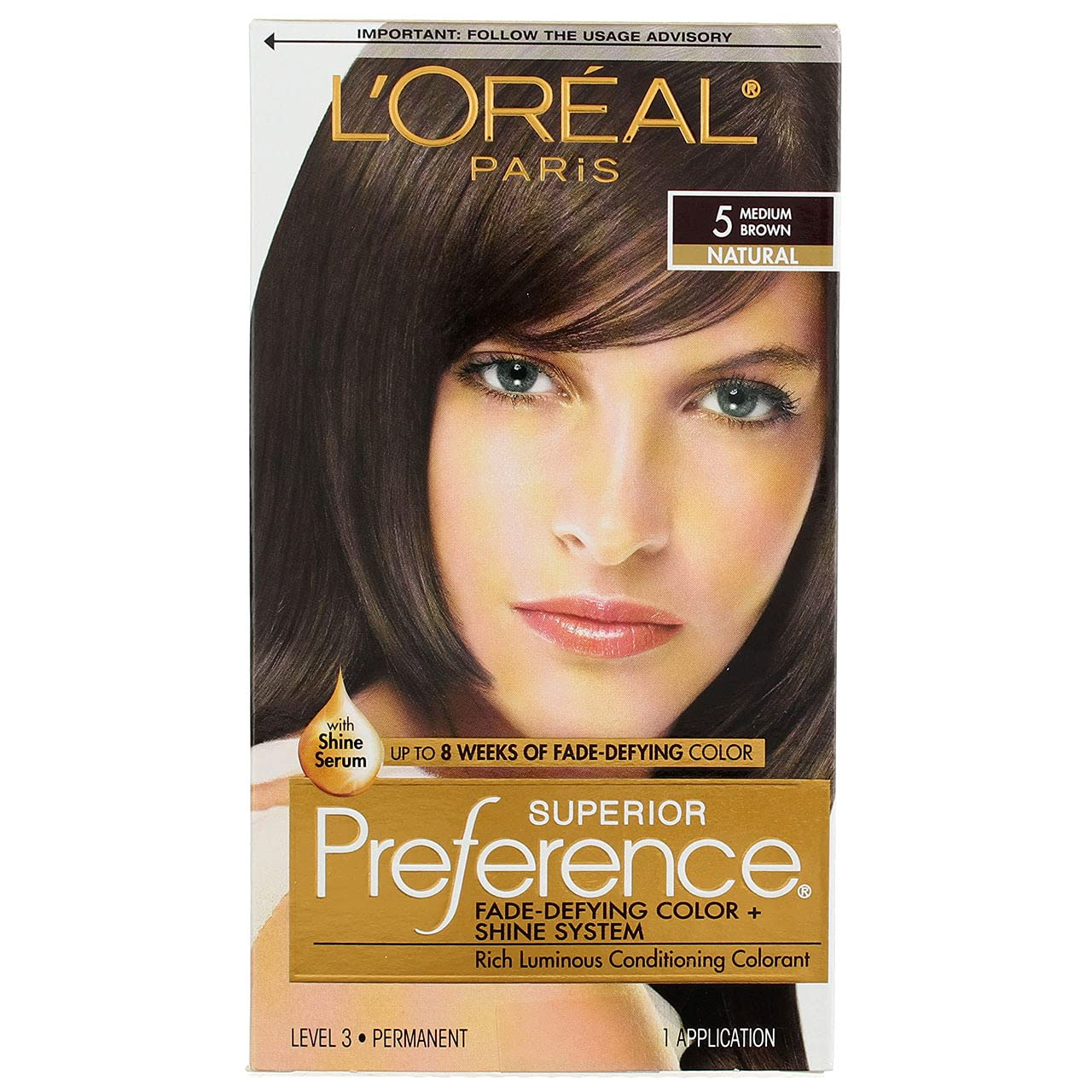 Max 43% OFF L'Oreal Superior Preference Permanent Hair 5 Ranking TOP6 Brown Medium Color