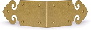 CBH Arrowhead Box and Frame Brass Corner Hardware 3