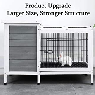 Best rabbit hutch with removable tray Reviews