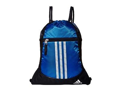 adidas Alliance II Sackpack (Glory Blue/Legend Ink) Bags