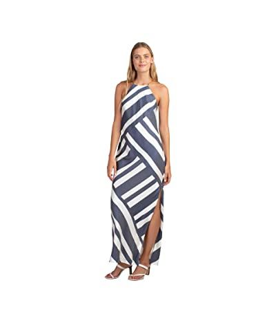 Trina Turk Vacay Dress (Ink/Whitewash) Women