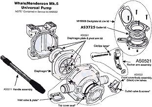 Whale - HENDERSON Mark V (MK5) Diaphragm Plate & Pivot Arm Kit