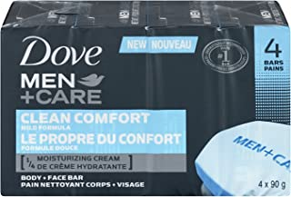 Dove Men +Care Body and Face Bar Clean Comfort 360 GR