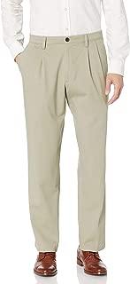 dockers Men's Classic Fit Easy Khaki Pants-Pleated