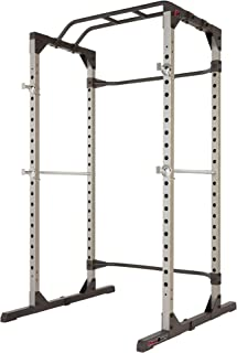Fitness Reality 810XLT Super Max Power Cage with Optional Lat Pull-down Attachment and..