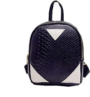 Women Backpack Girls Female Ladies Bag Casual Zipper School Bags Back Pack