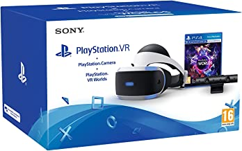 Sony - PlayStation VR Casco De Realidad Virtual + VR Worlds + Cámara (PS4)