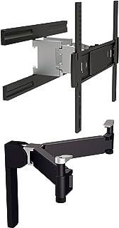STARPLATINUM テレビ壁掛け金具 TVセッターアドバンス SA124 シェルフセット Mサイズ 37-65インチ対応