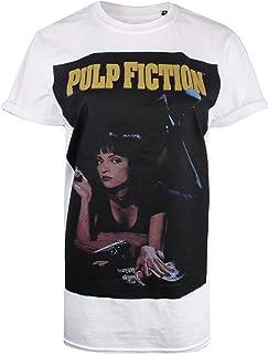 a6e39cdbca Pulp Fiction Movie Poster T-Shirt Femme