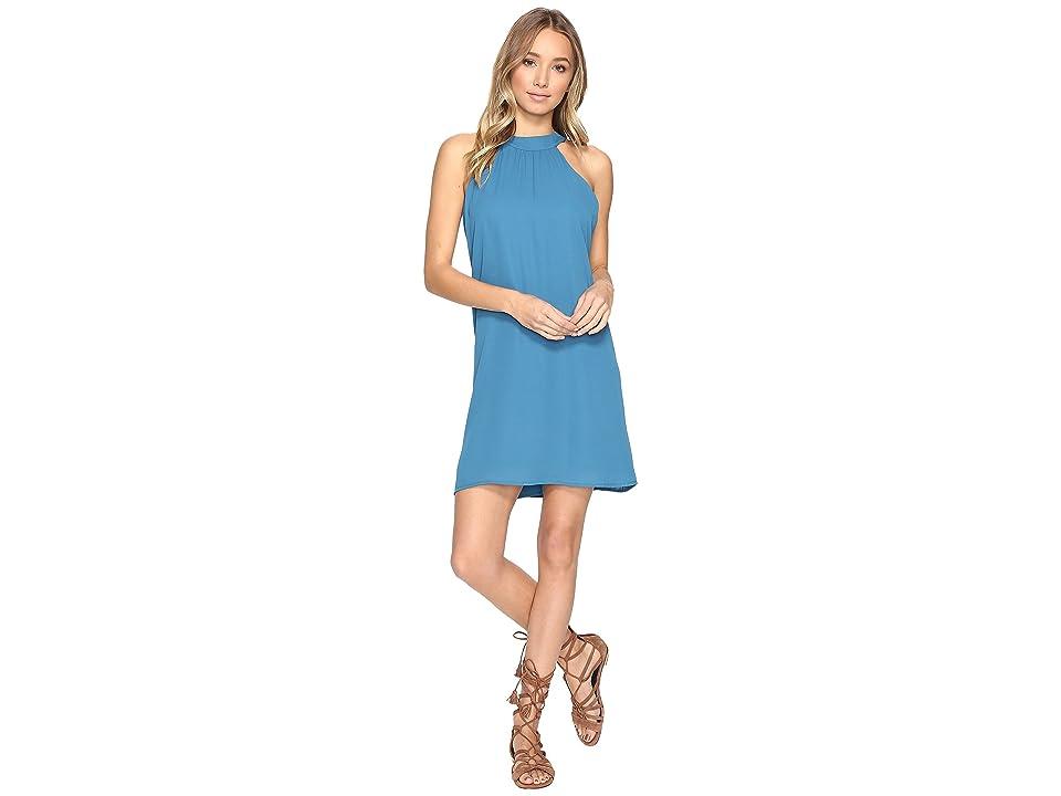 Lucy Love Victoria Dress (Peacock Blue) Women's Dress