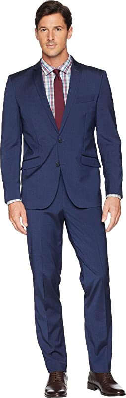 Skinny Fit Performance Suit w/ Stretch