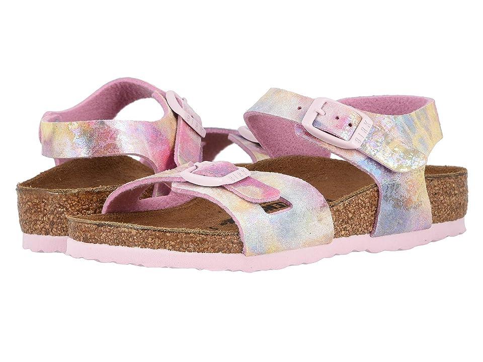 Birkenstock Kids Rio (Toddler/Little Kid/Big Kid) (Water Color Multi) Girls Shoes