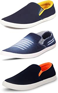 Ethics Men's Faux Leather Loafers - Multicolour
