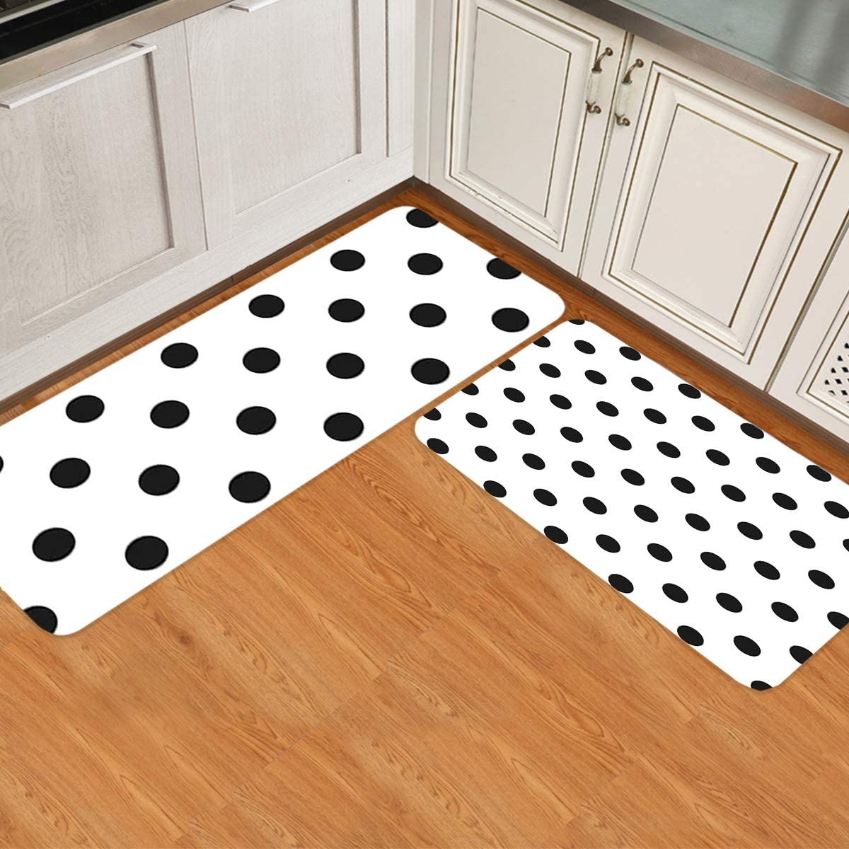 ARTSHOWING Modern Kitchen Rugs and Mats D Set Non 2 of Manufacturer service direct delivery Slip