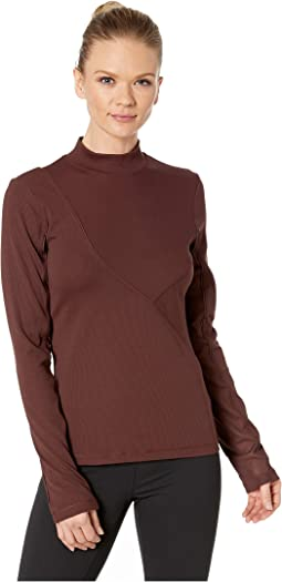 Pro Hypercool Rib Long Sleeve Top