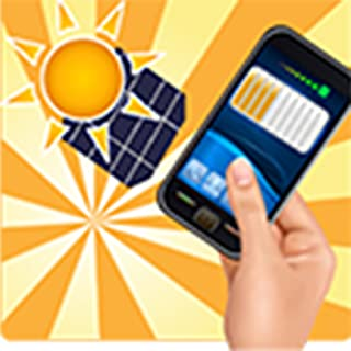 Charging the phone with solar energy