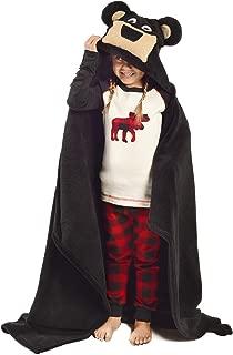 Lazy One Kids Critter Hooded Blanket (Bear)