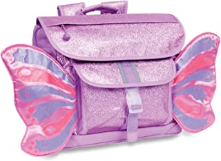 Bixbee Kids Backpack, Sparkalicious Purple Butterflyer