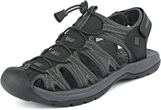DREAM PAIRS Men's 160912-M-NEW Adventurous Summer Outdoor Sandals