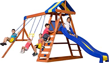 wood kingdom swing set prices