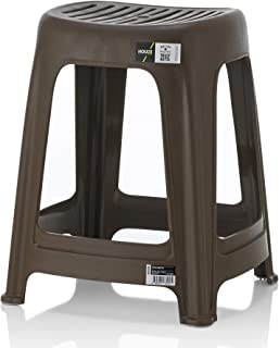 HOUZE CS-3101-CHOC Signature Haren Stool, Chocolate