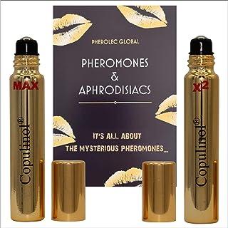 Copulinol MAX 8ml roll-on y Copulinol X2 8ml roll-on feromonas para mujeres atraen a hombres