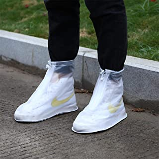 Whose Lemon Waterproof Boots Shoes Cover Rain Overshoes