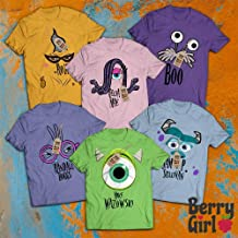 Monster Uni Squad Uni Boo-Mike-Sulley-Roz-Randall-Celia Team Costume Character Halloween Group Costume Team Outfit Family Friends T-Shirt | Hoodie | Tank Top | Sweatshirt | Long Sleeve