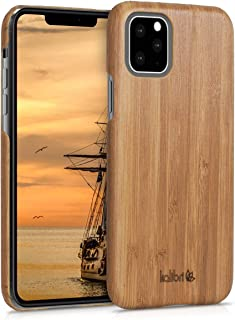 kalibri Apple iPhone 11 Pro Wood Case - Ultra Slim Natural Hard Wooden Protective Cover for Apple iPhone 11 Pro