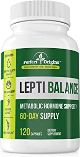 Perfect Origins LeptiBalance, Supplement for Healthy Weight Loss, Fat Burn, and Anti Inflammation