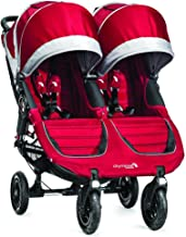 Baby Jogger 2015 City Mini GT Double Stroller, Crimson/Gray