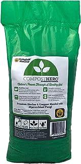 Wakefield Compost Hero Biochar Blend – 1 Gallon - Premium Compost with Mycorrhizal Fungi