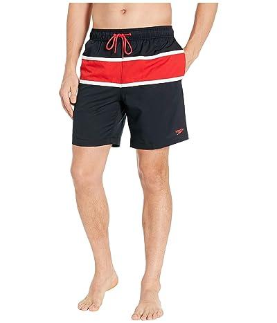 Speedo Color-Block Redondo Volley 18 (Speedo Black) Men