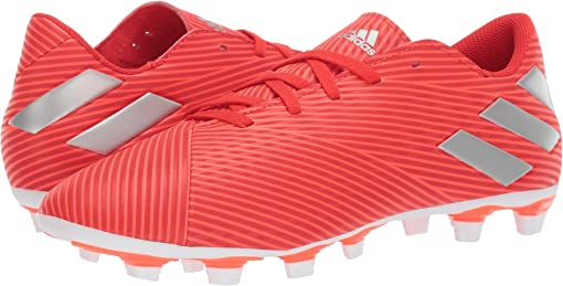 Active Red/Silver Metallic/Solar Red