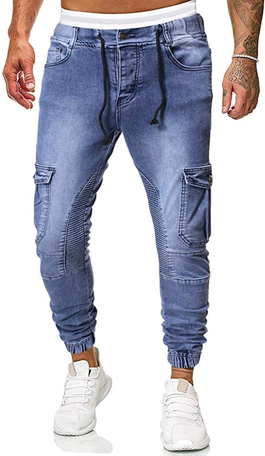 LLTT Men Skinny New Shipping Free Shipping Jeans Stretch Fit Slim Sale special price Biker Jean Washed