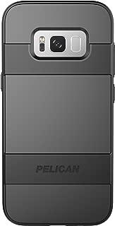 Pelican Voyager Samsung Galaxy S8+ Case - Black/Black