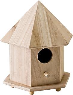 Plaid Enterprises, Inc. Plaid Wood Surface Crafting Birdhouse, Gazebo